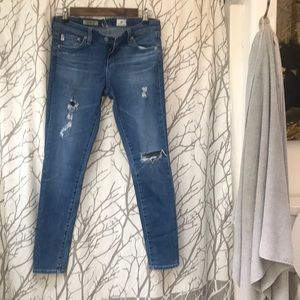 Adriano Goldstein Jean leggings